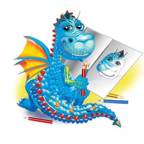 création d'illustration numérique de dinosaure - dessin_3