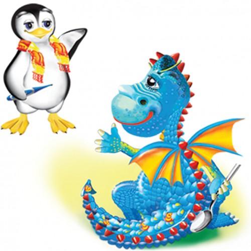 création d'illustration numérique de dinosaure - dessin_1