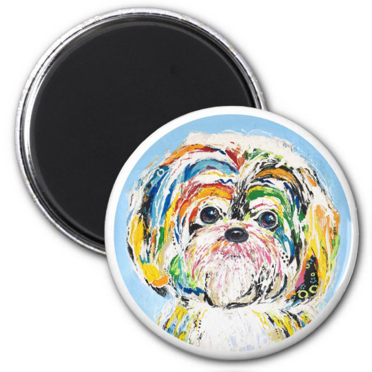 magnet_dog art